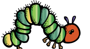 caterpillar melonheadz colored