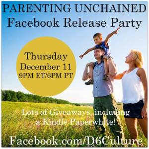 FB party Parenting Unchained
