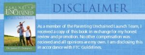 Parenting Unchained disclaimer
